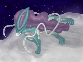 Suicune by Totallyhypnosquid