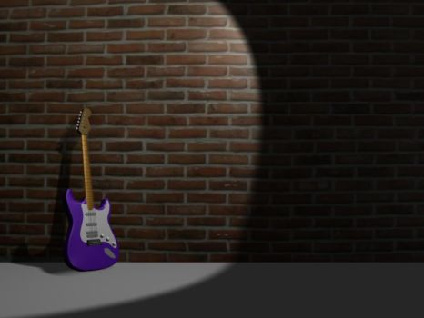 guitar by ybmikselbor