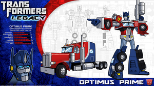 Transformers Legacy: Optimus Prime by CyRaptor