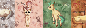 The four seasons by Evoli-niceli