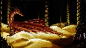Smaug The Magnificent by darkwolfhowling