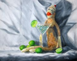 Monkey, Marbles, and Martini by ColbyBluth