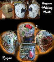 Custom Welding Mask Project by Rogercarter