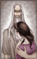 Saruman wit Mary Sue by morima