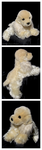 Douglas Small Floppy Dogs - White Chocolate by The-Toy-Chest