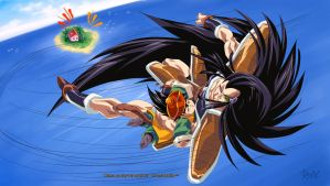 :Uncle Raditz!: by PhantomStudio-Tommy