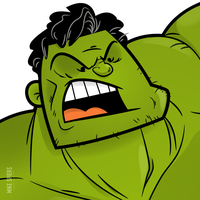 The Hulk by spiers84