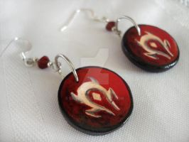 Horde Earrings by Erisana
