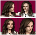 Hermione Granger 3D head test by craneo242