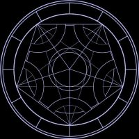 Magic Circle - Pentagram Base by Shadowtext