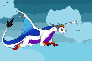 Cloud Chaser by CriexTheDragon