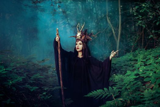 The Woodland Witch by Econita