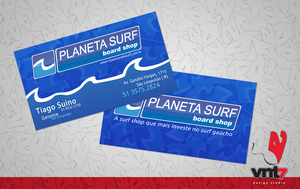 Planeta Surf ID Card by grillobox