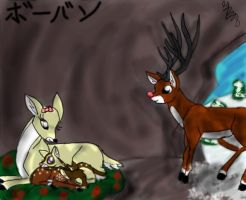Rudolph's Family by Kalo28