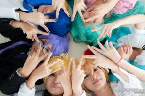 Vocaloid : Stars Of Vocaloid by Kagami-Shiro