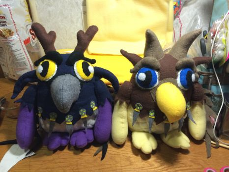 Moonkin Hatchlings by lovealwayshurts