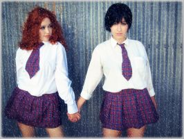 T.a.t.U cosplay by IvanaHeartfilia