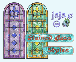 Stained glass Styles by jojo-ojoj