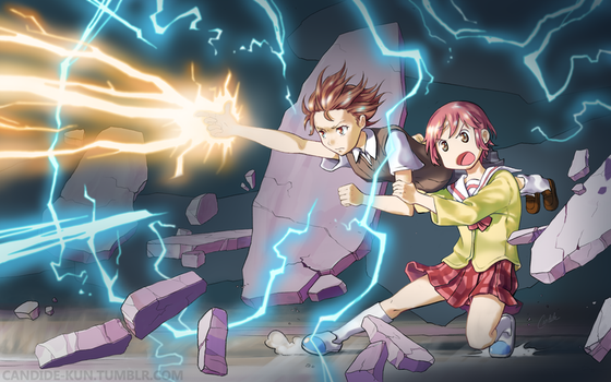 Say Hello to My Little Railgun by CandideKun