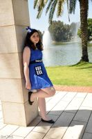 Tardis Girl by Riversource