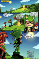 Scourge Eternal Blackout: Issue 2 pg 1 by 5courgesbestbuddy