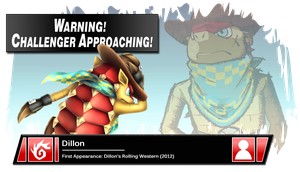 SSB4 Banner: Dillon by Pixiy