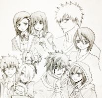 Happy Valentines' - Fav anime couples 2013 by yantinqqx