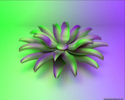 Cycles Flower by VickyM72