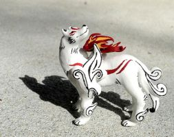 Okami Figure by OhThePlushabilities