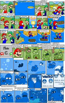 super mario bros page 46 by Nintendrawer
