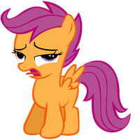 Scootaloo Vector by CultLeaderFluttershy