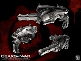 Gears of War COG HOD by YemYam