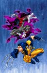Nightcrawler and Wolverine by X-babe