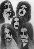 Black Metal Warriors by gnomage