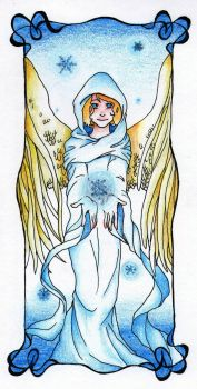 Snow Angel by whenyoubelieve17