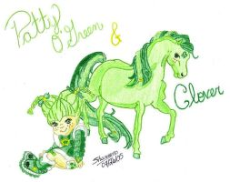 O'Green Clover by QueenLeaShanneen