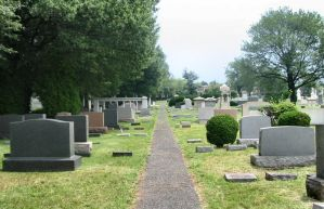 Silver-Stock: Cemetery Path 1 by silver-stock