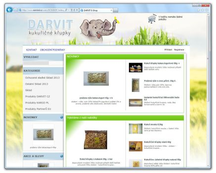 DARVIT [ProFact 3.0 E-SHOP] by eXmind-ProFact