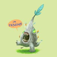 Daliy monster 4 by Save-The-Dinosaurs