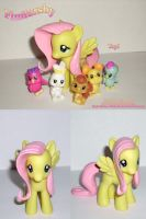 Show Accurate Fluttershy by Kari-Morano