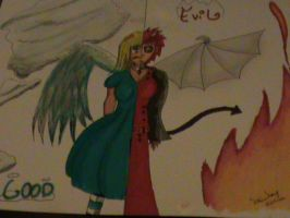 LoveAnimeDrawing contest entrie by SainderyX