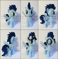 Plushie: Soarin - My Little Pony: FiM by Serenity-Sama