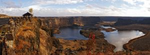 Dry Falls Panorama 2  by TRunna