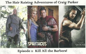 The Hair Raising Adventures of Craig Parker by Darkendrama