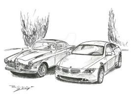 BMW 503-1 and 645 Ci by judge-design