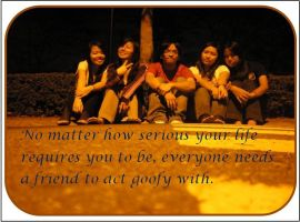 friendship quote by bebphoebe