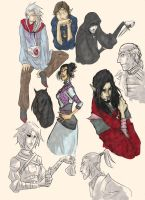 TES sketches 2 by ankalime