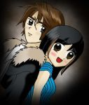 Pretty Squall and Rinoa by TheSpyWhoLuvedMe