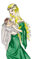 Mother and Child by ashiey-chan