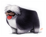 Day 572. Sheepdog by Cryptid-Creations